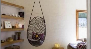 minimalist bedroom swings