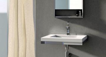 minimalist floating sinks
