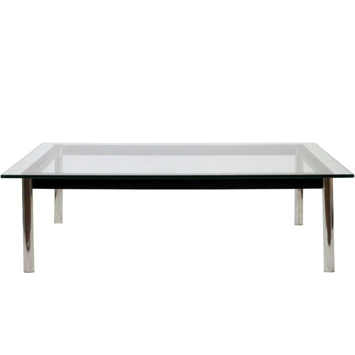 Low Plastic Coffee Table: Minimalist Low Acrylic Cocktail Table