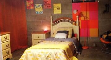 minimalist rustic bedroom basement ideas