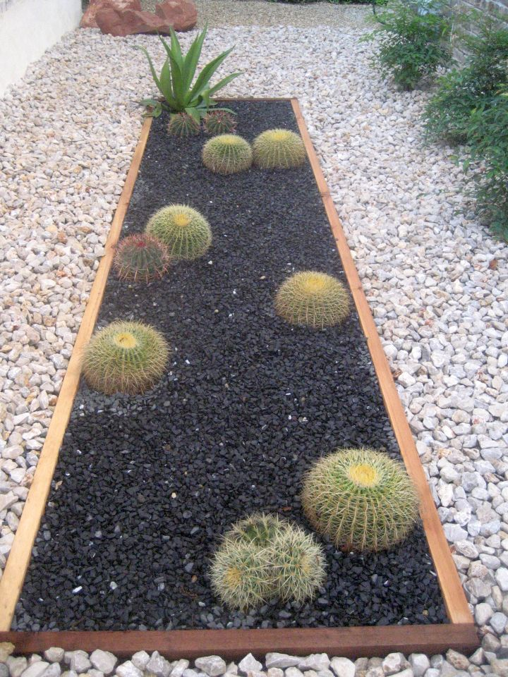 18 Simple and Easy Rock Garden Ideas on Backyard Rock  id=65824