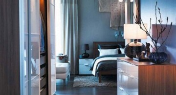 modern Asian bedroom