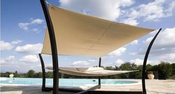 modern Outdoor swinging beds