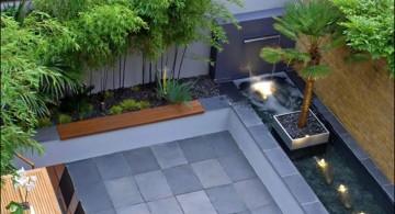 modern rooftop japanese garden designer