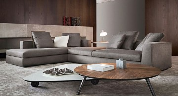 modern room arrangements by Minotti