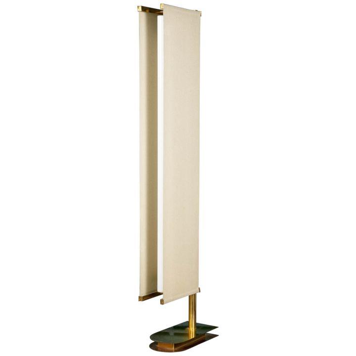 modern sail huge floor lamp
