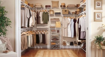neat walk in closet furniture