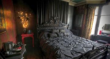 plush Gothic bedrooms