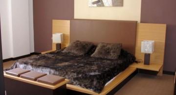 plush asian inspired bedroom