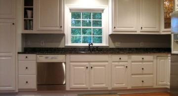 popular cabinet colors plain white