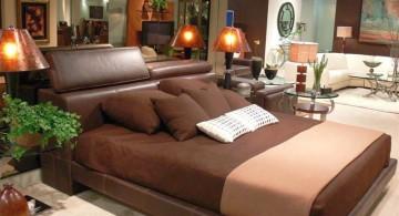 relaxing bedroom ideas in brown
