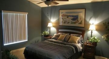 relaxing bedroom ideas in dark colors