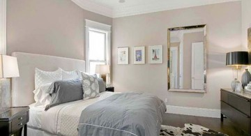relaxing bedroom ideas in pastel colors for small rooms