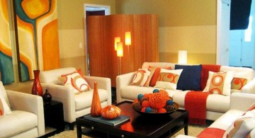 retro modern decor with wall decor