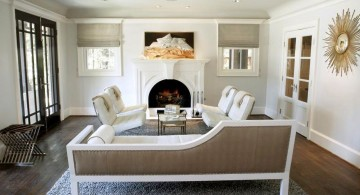 room arrangements with fireplace