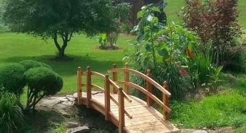 rustic Japanese garden bridge plans