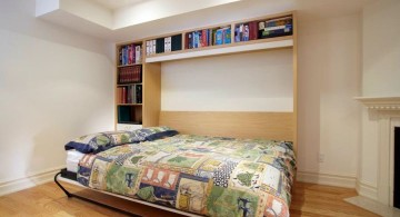 side wall bed couch