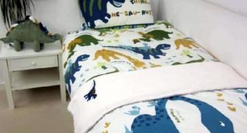 simple Dinosaur themed bedroom