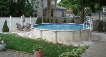 simple above ground small pool ideas