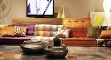 simple mah jong sofa for small living rooms