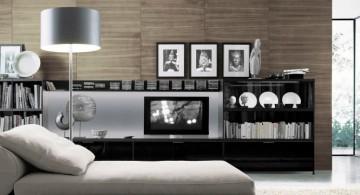 simple modern minimalist living room