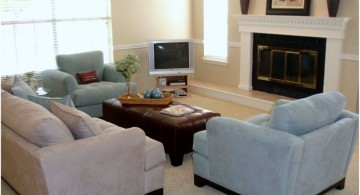 simple on budget great room furniture layout