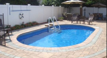 simple pool for small yard