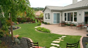 simple rock garden ideas for back yard