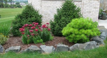 simple rock garden ideas for small front yard