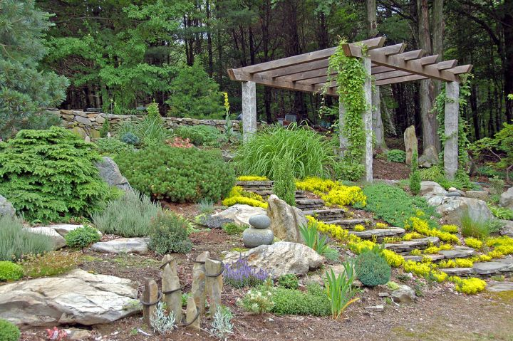 18 Simple and Easy Rock Garden Ideas on Small Garden Ideas With Rocks id=21216
