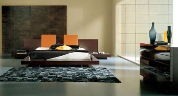 sleek Asian bedroom