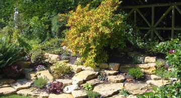 small rock garden designs for large yards