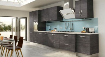 spacious Grey Kitchen Ideas