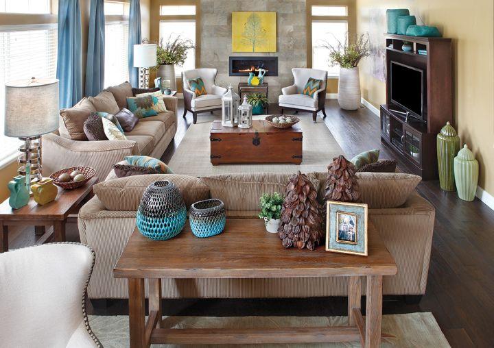 18 Modern Interior Living Room Arrangement Ideas