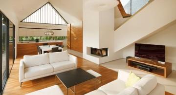 two barn house living room