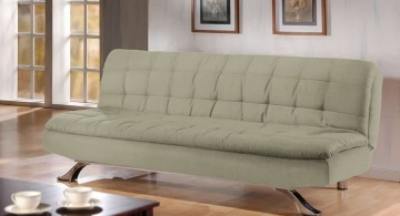 unique sleeper sofa in grey