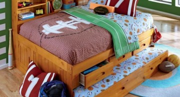unique trundle beds with storage between beds