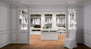 walk in closet furniture in white