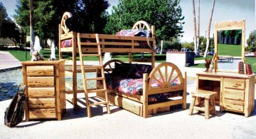 western style bunk bed for adults