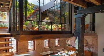 Tribeca Remodel indoor garden