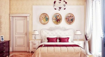 cool ideas for bedroom with classy bedding