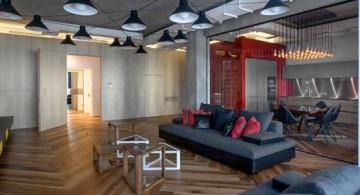featured image of St. Petersburg loft living room