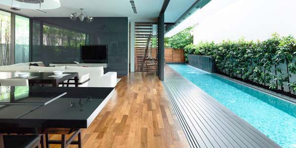 Detached Modern Bungalow By Hyla Design Singapore
