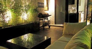 featured image of small living room ideas with green modular sofa and intriguing lighting