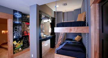 funky bedroom ideas with bunk beds