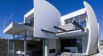 futuristic house plans with sails