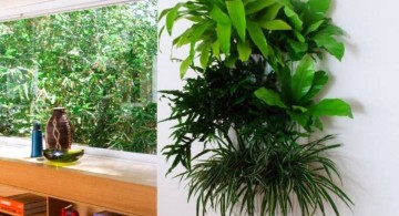 large size indoor wall hanging planter