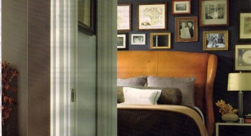 manly bedrooms with photoframes