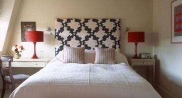 minimalist black and red bedroom ideas