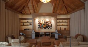 minimalist home music room